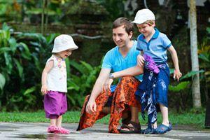 Kinder auf der Bali Rundreise
